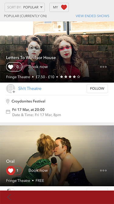 croydonites app stagedoor official